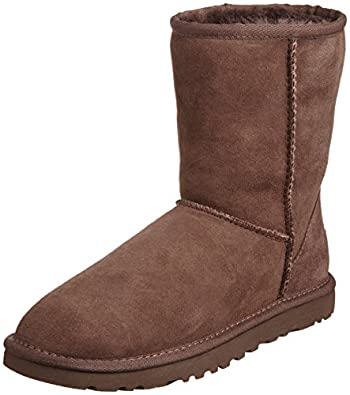 UGG Australia Women's Classic Short Boots Chocolate 6 B(M) US