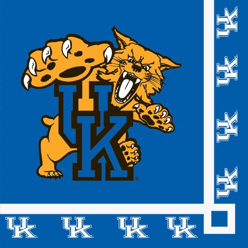 Kentucky Wildcats Beverage Napkins (20) Party Accessory