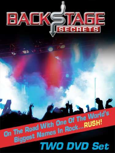 Backstage Secrets: On The Road With The Rock Band Rush (Grace Under Pressure Tour compare prices)