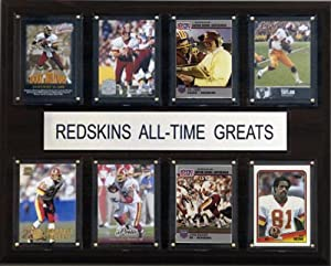 NFL Washington Redskins All-Time Greats Plaque by C&I Collectables