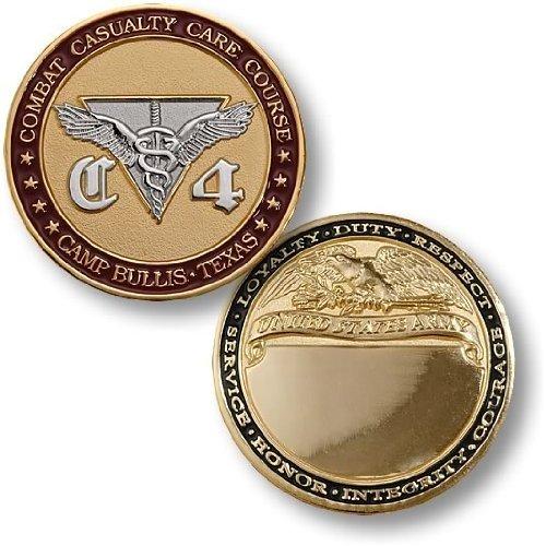 C4 Camp Bullis, TX - Engravable Challenge Coin