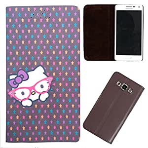 DooDa - For Sony Xperia ZR PU Leather Designer Fashionable Fancy Flip Case Cover Pouch With Smooth Inner Velvet
