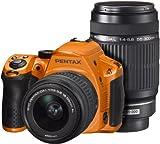 PENTAX デジタル一眼レフ K-30 ダブルズームレンズキット シルキーオレンジ(受注生産約2週間) K-30WZK S-OR