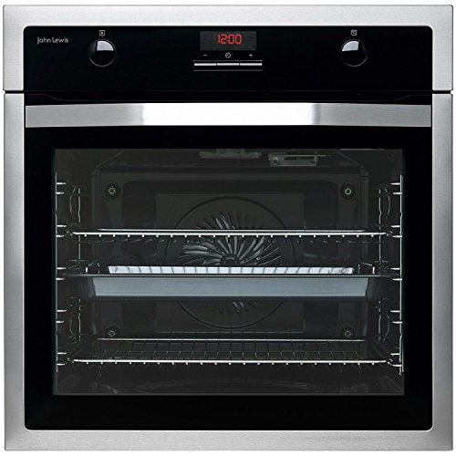 John Lewis JLBIOS615 Single Oven, Stainless Steel