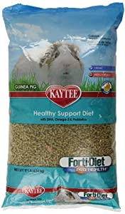 Kaytee Forti Diet Pro Health Food for Guinea Pigs, 10-Pound
