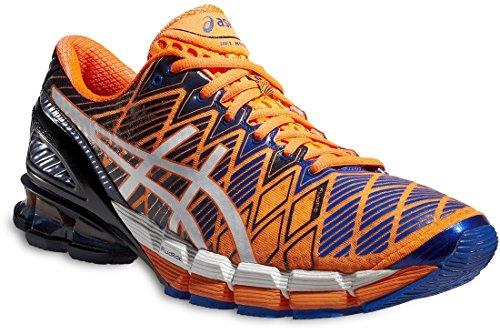 asics-mens-performance-gel-kinsei-5-trainers-orange-size-11
