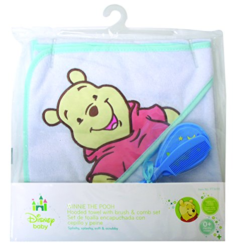 Winnie The Pooh Deluxe Hooded Towel Gift Set - 1