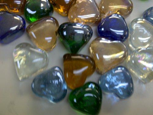 Best Price Tbc Hearts Decorative Glass Gems New Style Beautiful
