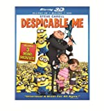 Image de Despicable Me (Blu-ray 3D Combo Pack (Blu-ray 3D + Blu-ray + DVD))