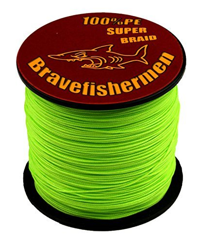Fluorescent Green Super Strong Pe Braided Fishing Line 6LB to100LB (100m, 100LB) (Fluorescent Fishing Line compare prices)