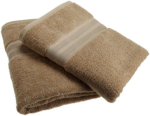 1888 Mills Organic Cotton 3 piece Set 1 Bath Towel, 1 Wash Cloth, 1 hand Towel (Earth Brown) (Towel Made In Usa compare prices)