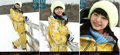 NMB48 Don\'t look back! 会場生写真  市川 美織 3枚コンプ