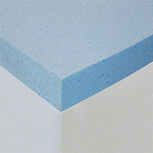 Sleep Master Gel Memory Foam 2 Inch Topper,Queen (Cooling Mattress Topper compare prices)