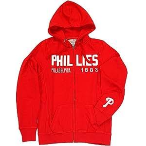 Philadelphia Phillies Women's Full Zip Hoodie by Soft as a Grape