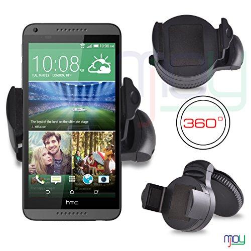 HTC Desire 816 360 ° Grad Mini Windschutzscheiben Halterung Halter SVL0 VON MOBILE JOY