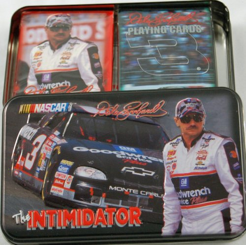 Dale Earnhardt Playing Cards, Limited Numbered Edition Collectible Tin, the Imtimidator #3 - 1