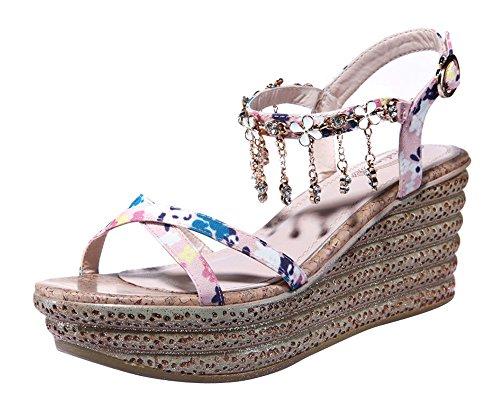 fq-real-balck-friday-womens-flower-rhinestone-tassels-ankle-strap-platform-sandals-55-ukpink