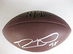 Robert Mathis, Indianapolis Colts, Alabama A&M, Signed, Autographed, Nfl Football... by Wilson