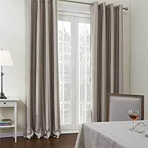 IYUEGOU Wide Curtains 120Inch-301Inch for Large Windows Contemporary