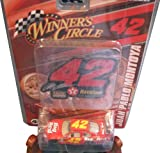 Juan Pablo Montoya #42 Big Red Dodge Charger Toy Replica Car for Nascar Winner's Circle Avid Fan Collectors