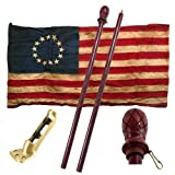 Valley Forge Betsy Ross - 13 Star - Heritage Series Flag Kit