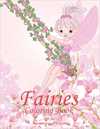 Fairies Coloring Book 1 (Volume 1)