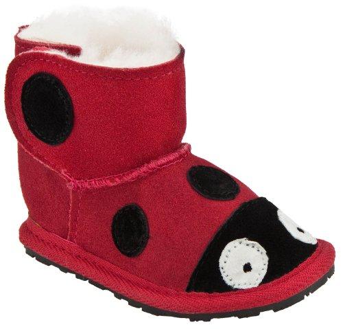 Emu Australia Lady Bird Walker Boot (Infant/Toddler),Red/Rouge,6-12 Months M Us Infant front-490532
