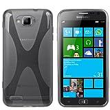 Mumbi X-TPU Protective Phone Case for Samsung ATIV S Transparent Black