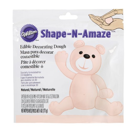 Wilton 707-162 Shape-N-Amaze Edible Decorating Dough, Beige (Edible Dough compare prices)