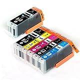 CANON / キヤノン キャノン 純正互換インクカートリッジ インクタンク BCI370XL (BK ブラック) + BCI371XL (BK ブラック / C シアン/ M マゼンダ/ Y イエロー) 5色マルチパック (大容量) +BCI370XL (BK ブラック)1本 残量表示機能対応 ICチップ付 安心保証1年 eBARONGオリジナル PIXUS MG7730F, PIXUS MG7730, PIXUS MG6930, PIXUS MG5730