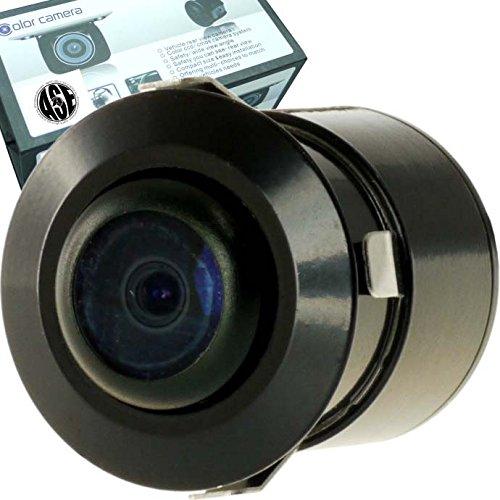 バックカメラ埋込式 防水CMOSガイドライン付 視野170度 as5006