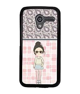 Printvisa 2D Printed Girly Designer back case cover for Motorola Moto X- D4420