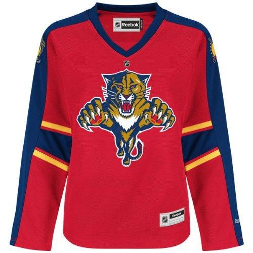 Nhl Reebok Hockey Florida Panthers Jersey Boys Size 4-7 Red front-989403