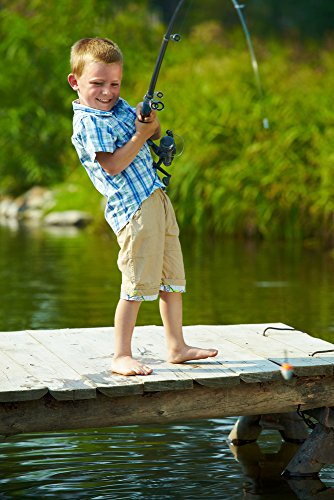 Fishing gear plus telescopic kids fishing pole with float for Kids fishing gear