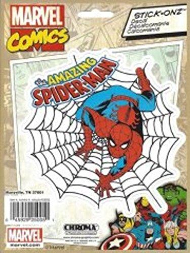 Chroma 25005 Spiderman Marvel Comic Stick-Onz Decal