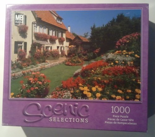 "Scenic Selections ""Home and Flower Garden, Owen, Germany"" 1000 Pc Puzzle #49295-4 - 1"