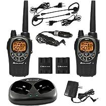 Midland X-TRA TALK GMRS 2-Way Radios with 36-Mile Range-DBY95361