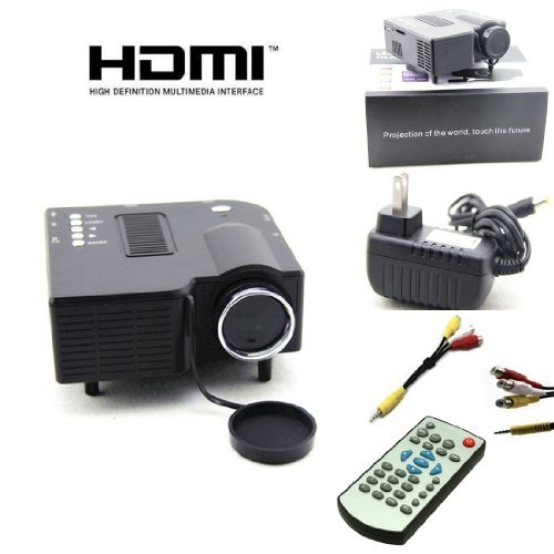 New uc28 pro hdmi mini hd home led projector uc28 camera for Mini led projector review