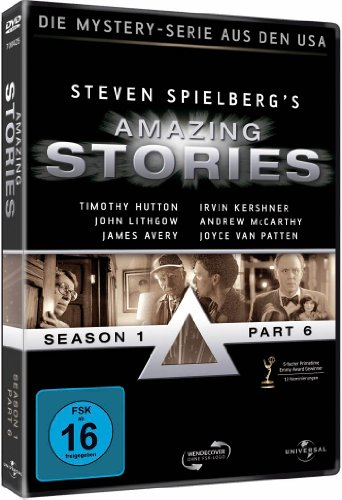 Amazing Stories Season 1 Part 6 (DVD)
