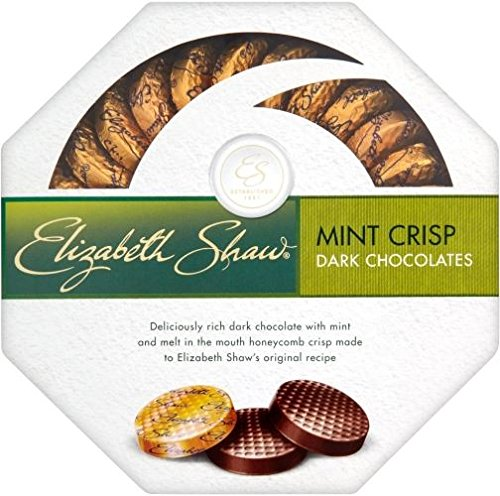 Elizabeth Shaw Mint Crisp Dark Chocolate (175g)