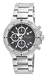 Giordano Chronograph Grey Dial Mens Watch - P158-22