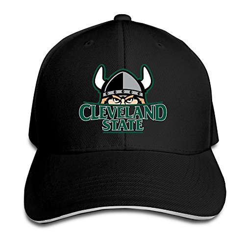 Fashion Adjustable MDLWW Cleveland State University Vikings Sandwich Cap (Vikings Season 1 Episode 4 compare prices)