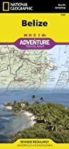 Belize: National Geographic: Adventure Map (National Geographic: Adventure Map (3106))
