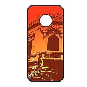 Vibhar printed case back cover for YU Yuphoria OrangeWindow