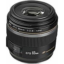Canon EF-S 60mm f/2.8 Macro USM Lens for Canon SLR Cameras