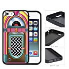Retro Jukebox Rock And Roll Rubber Silicone TPU Cell Phone Case Apple iPhone 5 5s