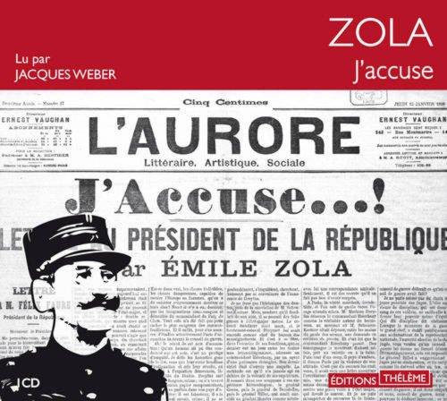 J'accuse ! (French Edition) Audio CD PDF