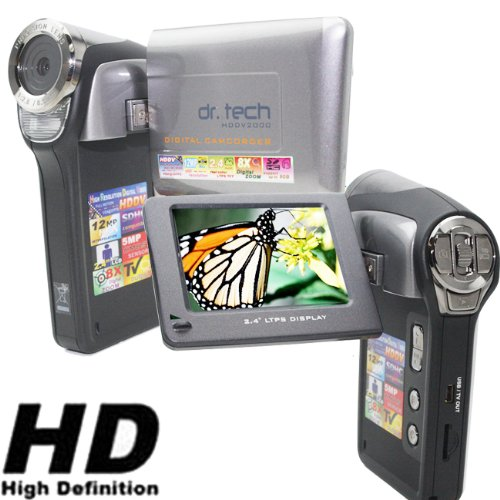 NEW HDDV2000 SILVER High Resolution DIGITAL VIDEO CAMCORDER / STILL CAMERA