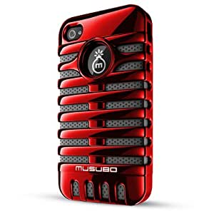 Musubo Retro Case for iPhone 4/4S-Red