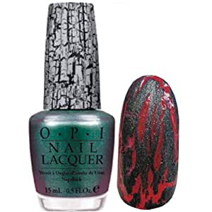 Opi Nail Lacquer The Amazing Spiderman Collection Shatter the Scales 0.5 Fluid Ounce